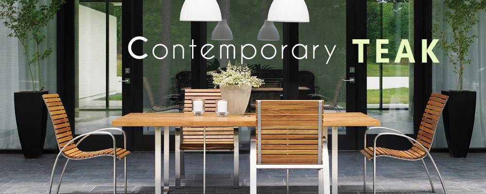 Contemporary Teak