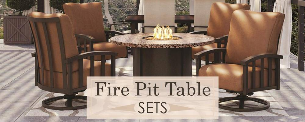 Fire Pit Table Sets Keep Cozy This Season With A Fire Pit Table Patio