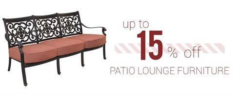 Patio Lounge Furniture on Sale
