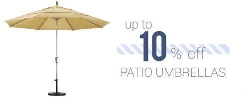 Patio Umbrellas on Sale