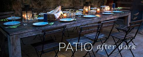 Patio After Dark