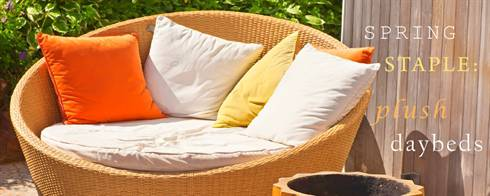 Spring Staple: Plush Daybeds