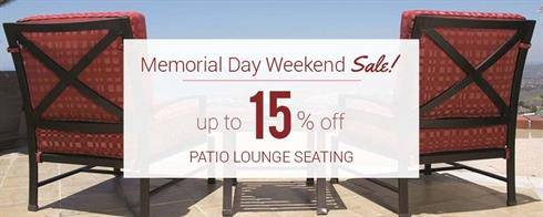 Patio Lounge Seating on Sale