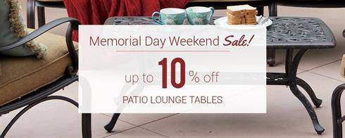 Patio Lounge Tables on Sale