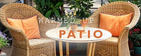 Warmed Up Patio