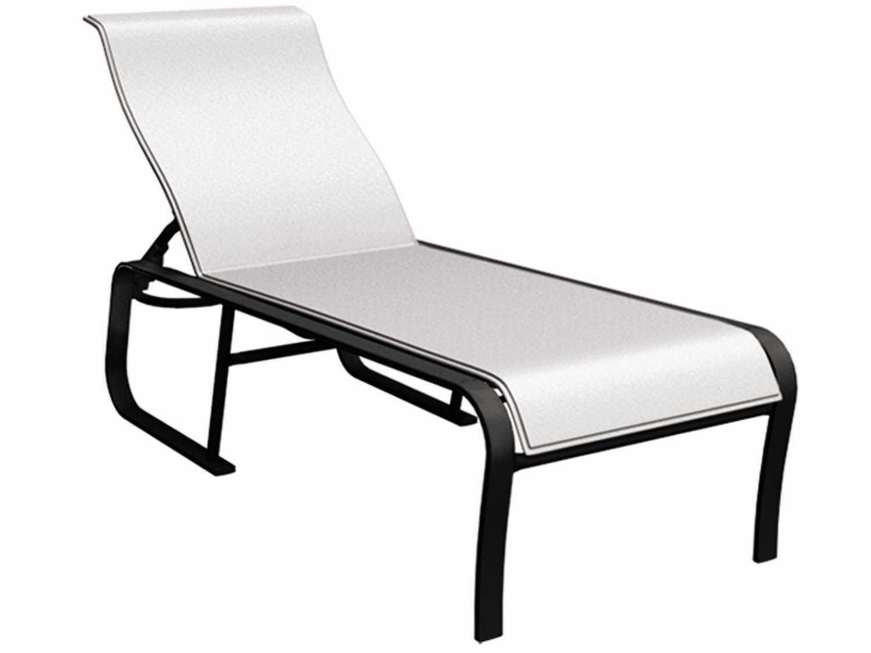 Homecrest kashton aluminum sling side adjustabel patio for Aluminum sling chaise lounge