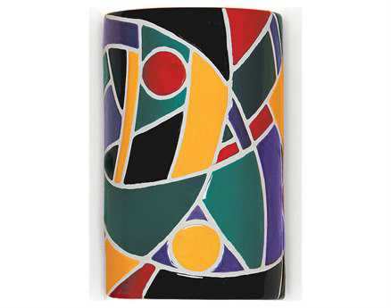 A19 Lighting Mosaic Picasso Multicolor Wall Sconce