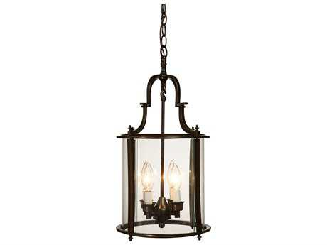 Artcraft Lighting Manor Dark Bronze Four-Light 11'' Wide Mini Chandelier