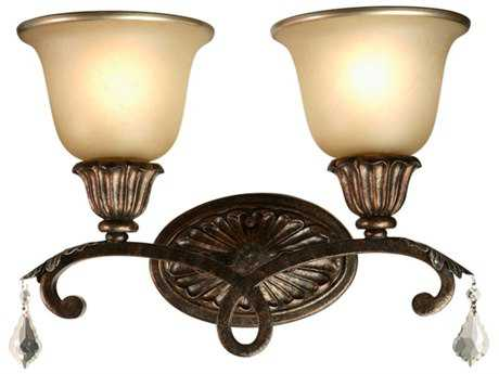 Artcraft Lighting Florence Bronze Two-Light Wall Sconce