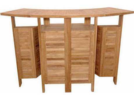 Anderson Teak Altavista Folding Bar Table