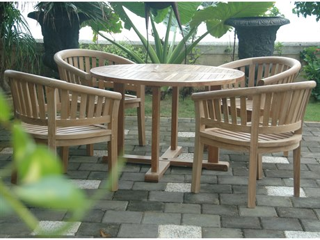 Anderson Teak Classic Teak 8 or more Teak Casual Patio Dining Set