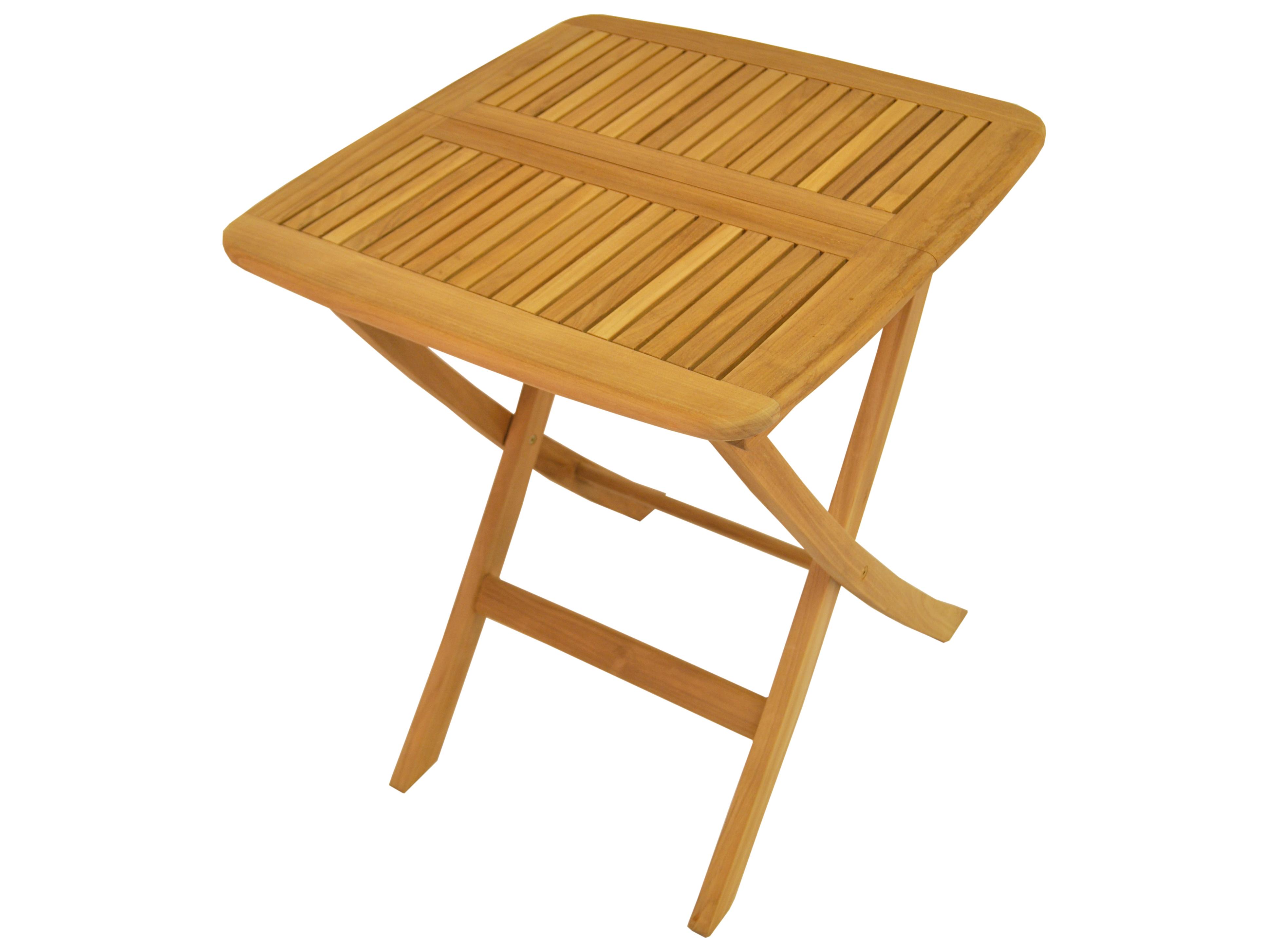 Anderson Teak Windsor 24 Square Folding Bistro Table
