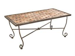Alfresco Home Recco Mosaic 44 x 24 Rectangular Coffee Table