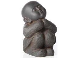 Alfresco Home Garden Cast Resin Humming Buddha