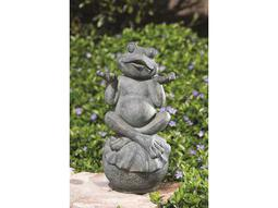 Alfresco Home Garden Care-Free Frog Statue