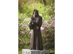 Alfresco Home Garden St. Francis Statue