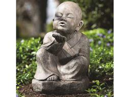 Alfresco Home Garden Wishing Buddha Statue