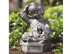 Alfresco Home Garden Dreaming Buddha Garden Statue