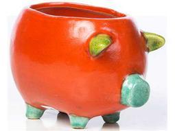 Alfresco Home Garden Ceramic Large Cerdito