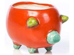 Alfresco Home Garden Ceramic Small Cerdito