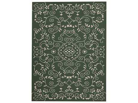 Amer Helena Transitional Green Hand Made Synthetic Damask 2' x 3' Area Rug - HEL70203