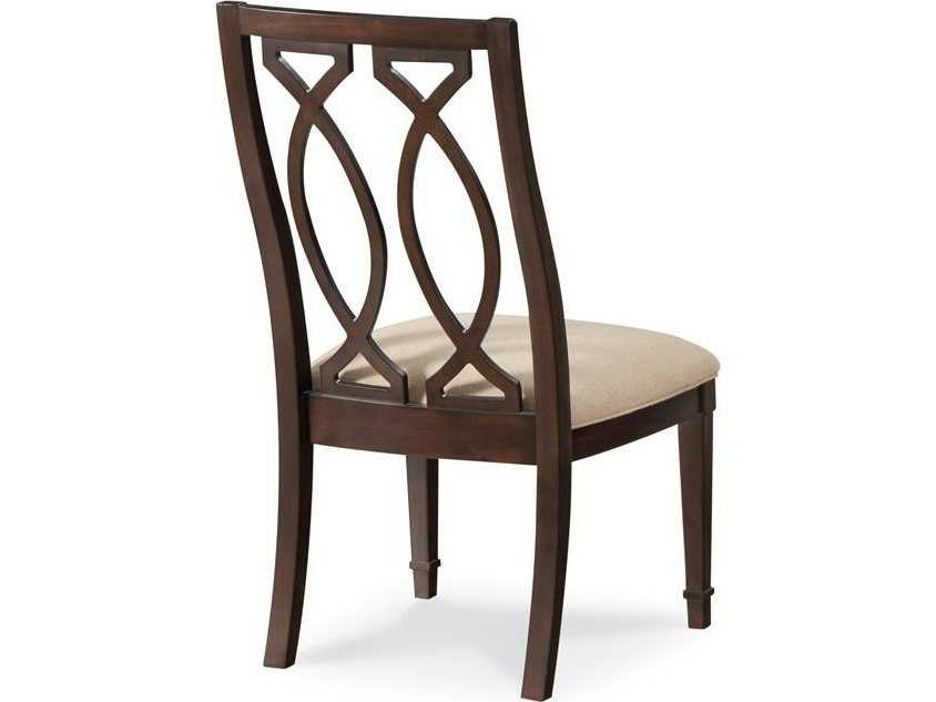 A r t furniture intrigue wood back dining side chair for A r t dining chairs