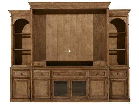 ART Furniture Pavilion Barley Entertainment Wall with Piers
