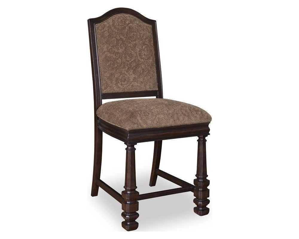 A R T Furniture Marbella Noir Upholstered Back Counter Stool