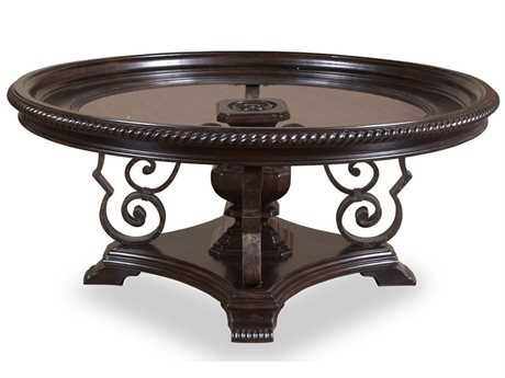 A R T Furniture Marbella Noir 46 Round Cocktail Table