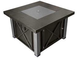 AZ Patio Heaters Decorative Bronze And Stainless Steel Firepit