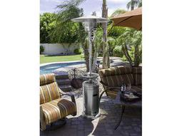 AZ Patio Heaters 87'' Tall Stainless Steel Patio Heater With Table