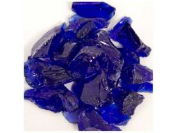 AZ Patio Heaters Cobalt Blue Recycled Fire Glass - 10 Lbs