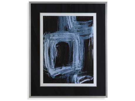 Bassett Mirror Thoroughly Modern Sapphire Windows I Painting