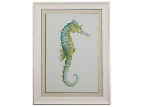 Bassett Mirror Pan Pacific Watercolor Seahorse I Painting