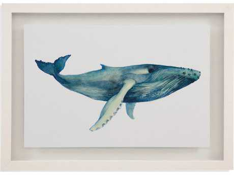Bassett Mirror Pan Pacific The Whale's Song II Painting