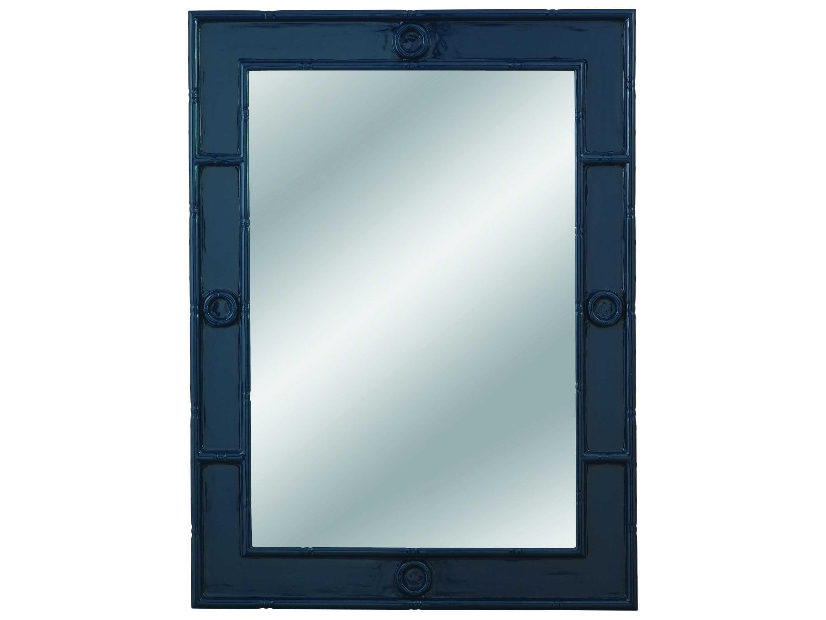 Bassett mirror pan pacific 36 x 48 tybee wall mirror m3700ec for Mirror 48 x 36
