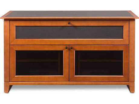 BDI Novia 52'' x 22'' Natural Stained Cherry Double Wide Tall TV Stand