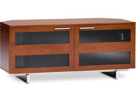 BDI Avion S. II 50'' x 22'' Natural Stained Cherry Double Low Corner TV Stand