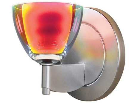 Bruck Lighting Rainbow Sunrise Glass Wall Sconce Bronze - 100918bz