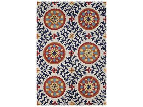 Bashian Valencia Transitional Hand Made Wool Floral/Botanical 2'6'' x 8' Area Rug - R131-IVNV-2.6X8-BAL142