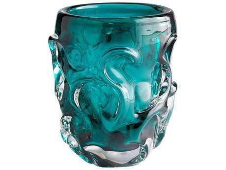 Cyan Design Dollop Cyan Blue Vase