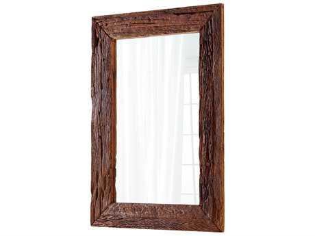 Cyan Design Folklore Walnut 42''W x 60''H Rectangular Floor Mirror