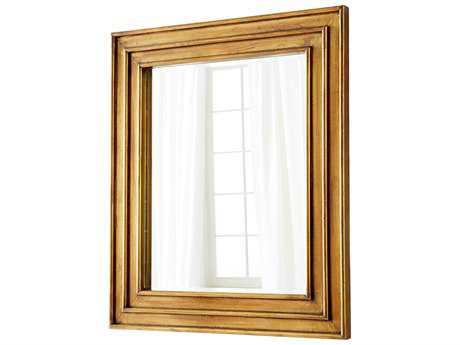 Cyan Design Auric Brass 40''W x 46''H Rectangular Wall Mirror