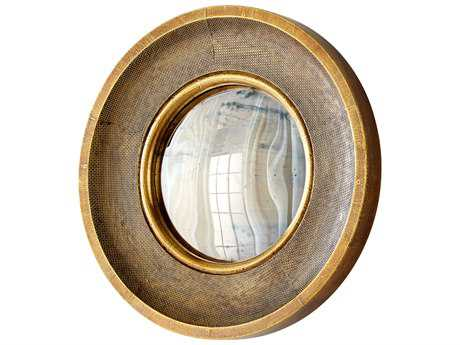 Cyan Design Bronte Brass 24'' Wide Round Wall Mirror