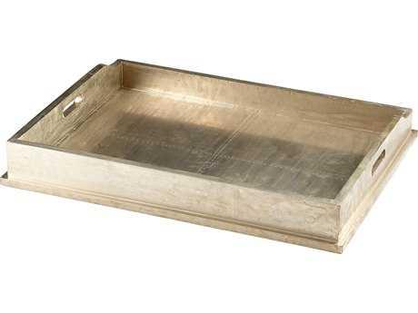 Cyan Design Hawthorne Silver Oxide Tray