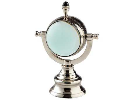 Cyan Design Looking Glass Nickel Small Sculpture