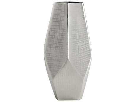 Cyan Design Celcus Textured Nickel Small Vase
