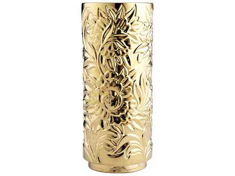 Cyan Design Carnation Gold Large Vase