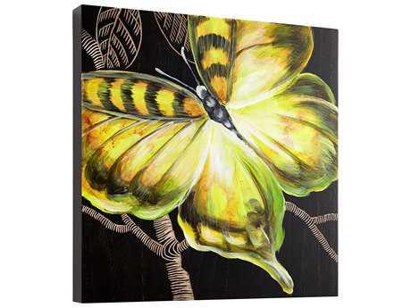 Cyan Design Monarch Black & Green Wall Decor