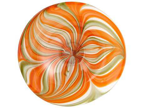 Cyan Design Chika Orange Small Decorative Plate